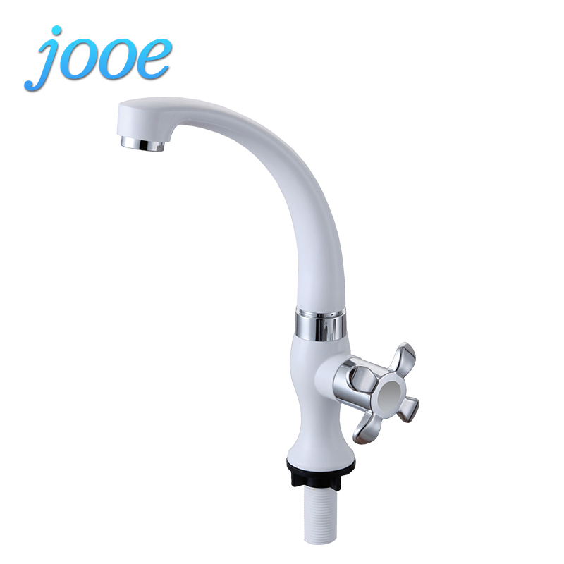 jooe Deck Mounted basin Tap Kitchen Water Tap Kitchen Faucet ABS Hot Cold Bathroom Faucet torneiras