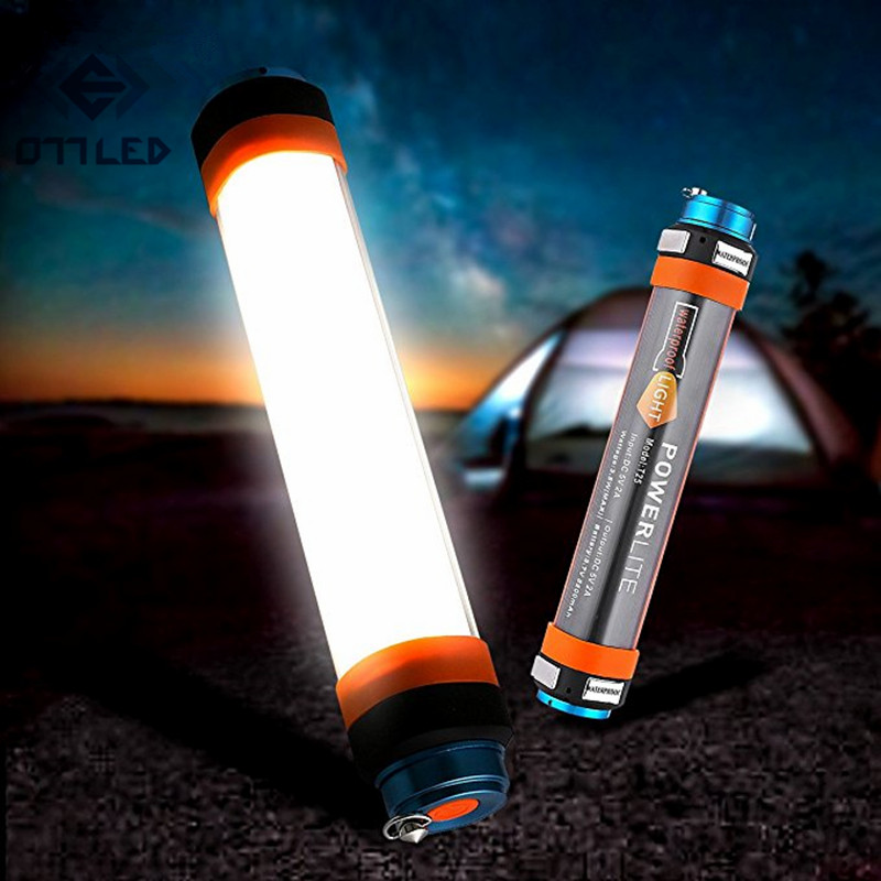 High Bright Led Camping Light Flashlight Outdoor SOS Emergency Light USB Rechargeable 7800mAh Power Bank Lamp Fishing Hiking