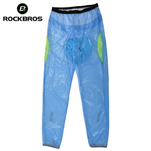 ROCKBROS MTB Cycling Clothing Tights Pants Bike Bicycle Windproof Long Rainproof Polyester Equipment