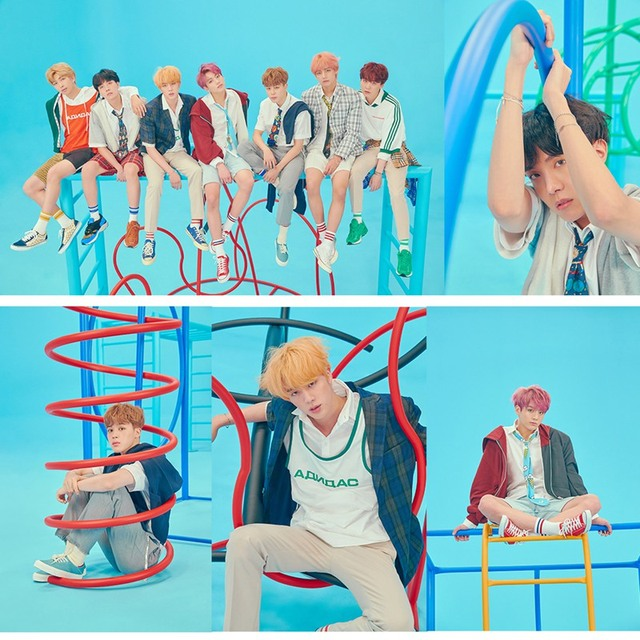BTS Poster Clear Image Wall Stickers Home Decoration BTS New Album Love Yourself Answer Prints White Coated Paper Home Art