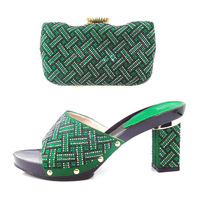 ФОТО Italian Mathing Shoe and Bag Sets African Shoes and Bags Matching Set High Quality Matching Italian Shoe and Bag Set !HJJ1-24