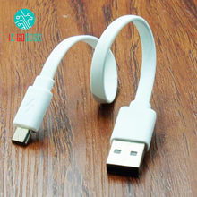 20CM Power Bank Data Cable Short Wire Charging Line Universal Data Cables Micro 5P USB for Android Phone for Xiaomi Original(China)
