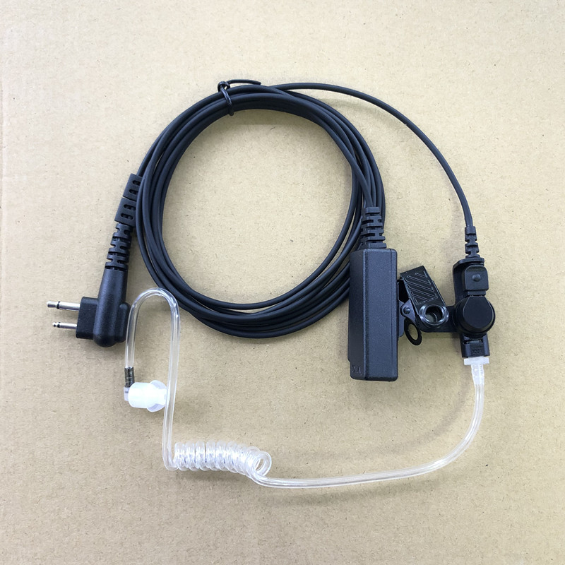 Surveillance Kit Earphone For Hytera PD502 PD505 PD506 PD508 PD562 PD565 PD566 PD568 PD402 PD405 PD406 PD408 PD412 PD415 PD416(China)