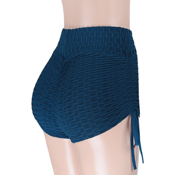 Women High Waist Solid Slim Fold 3