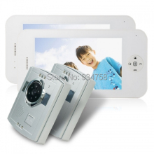 2V2 Lovely type 7 Inch TFT Digital Color LCD Monitor 1/3 CMOS Night Vision Camera Door Phone System