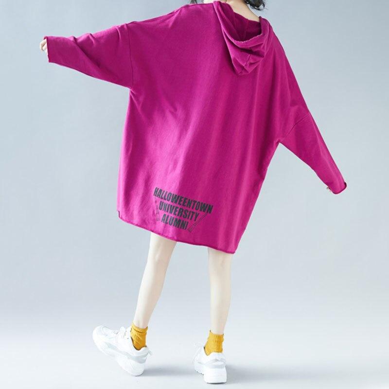 Толстовки Для женщин 2019 Брендовые женские с длинным рукавом Твердые Цвет толстовка с капюшоном, толстовка милый спортивный костюм пальто П... - 3