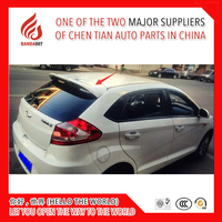 Hot sale ABS Primer Unpainted color ST style Rear Roof Spoiler For Chery Fulwin 2 Hatchback / Storm 2 / Very / A13 / Celer