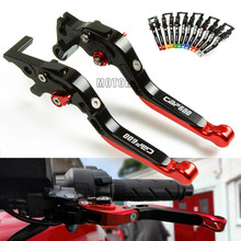 цена на For Honda CBF 600 SA CBF600/SA 2006 2007 2010 2011 2012 2013 CNC Motorcycle Adjustable Folding Extendable Brake Clutch Lever Set