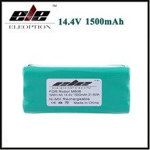 Новое поступление Eleoption Замена Батарея 14,4 В 1500 мАч 1.5Ah Ni-MH для либеро вакуум 0606004, M606