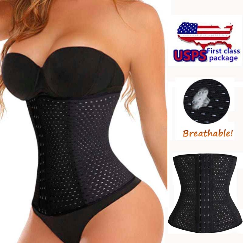 ac80fb31213 2016 Lady Waist Trainer Tummy Girdle Glass Body Shaper For Ladies Underbust  Control Corset Invisible Trimmer Cincher Belly on Aliexpress.com