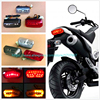 1pcs Hot Sale Motorcycle LED Taillight Brake Light Driving Light Turn Signal For MSX125 CBR650F CTX700