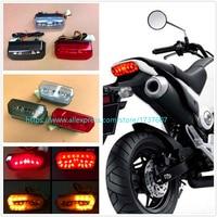 1pcs Hot Sale Motorcycle LED Taillight Brake Light Driving Light Turn Signal For MSX125 CBR650F CTX700