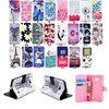 Luxury Painting PU Leather Case For Nokia Lumia 640 N640 Smile Elephants Flowers Butterfly Flip Wallet