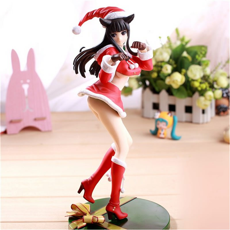 Anime Alphamax skytube Tony Sexy Christmas girl Animation hand model toys Animation model desktop display Anime children's toy 16cm alphamax skytube tony sexy action figure pvc collection model toys for christmas gift free shipping wx198