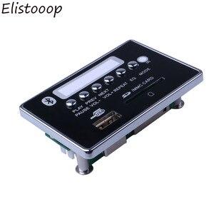 Image 2 - Автомобильный USB MP3 плеер 2019, MP3 декодер громкой связи, плата, Bluetooth модуль, USB FM Aux радио для автомобиля, Встроенный пульт дистанционного управления