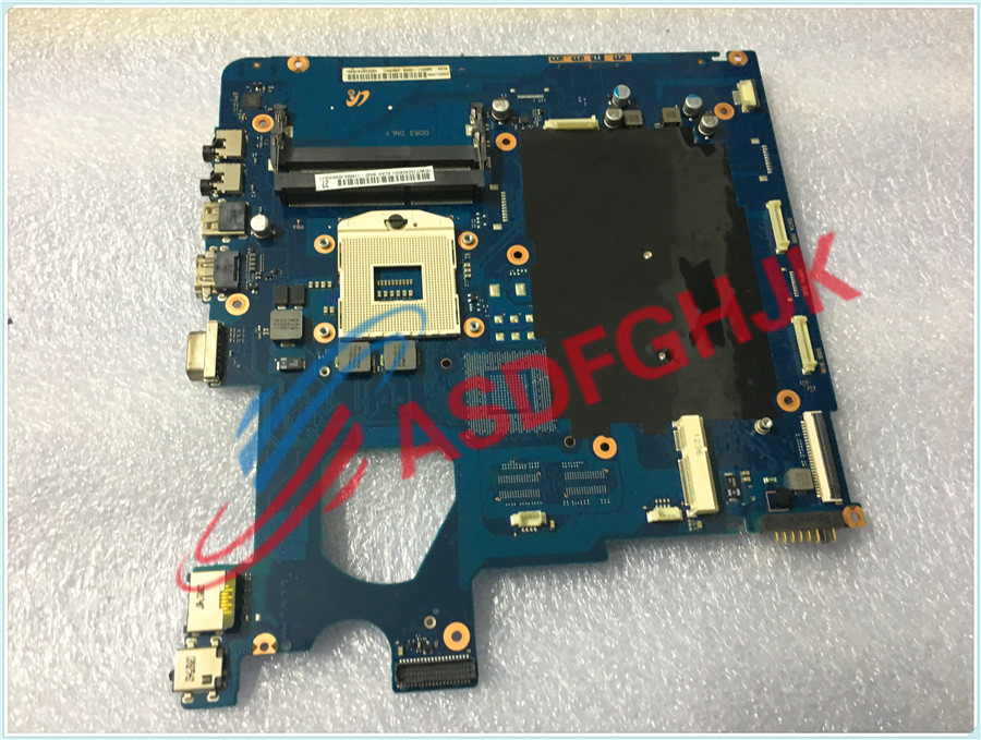 Original stock FOR SAMSUNG NP300 NP300E5C Laptop motherboard  BA92-11488A 100% Work perfectly ba92 05127a ba92 05127b laptop motherboard for samsung np r60 r60 ddr2 intel ati rs600me mainboard