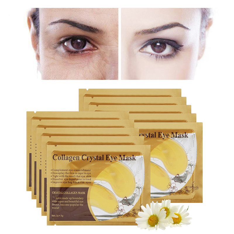 Putimi Eye Mask Collagen Crystal Eye Patch Remove Dark Circles Fine Lines Moisturizing Eye Masks Patches Firming 16pcs 8pair in Creams from Beauty Health