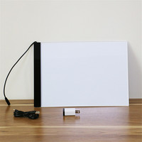1Pcs A4 Ultra Thin Portable USB Power LED Light Pad With Line Tracing Copy Board Light