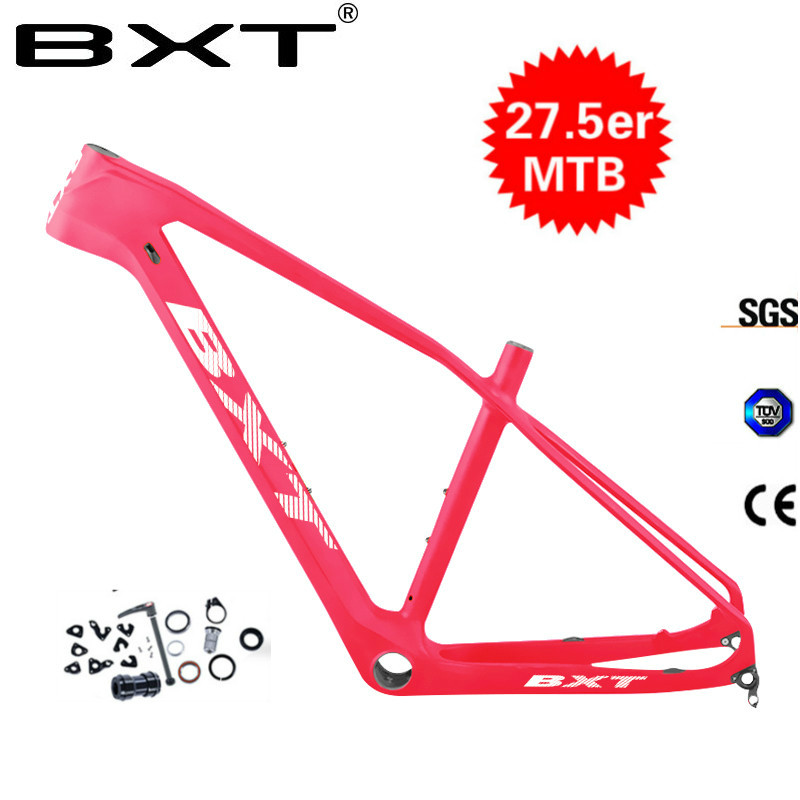 Chinese Carbon Mtb Bicycle Frame 27.5er UD Carbon Mountain Bike Frame Carbon Fibre Frame Bike Carbon Frame Free Shipping