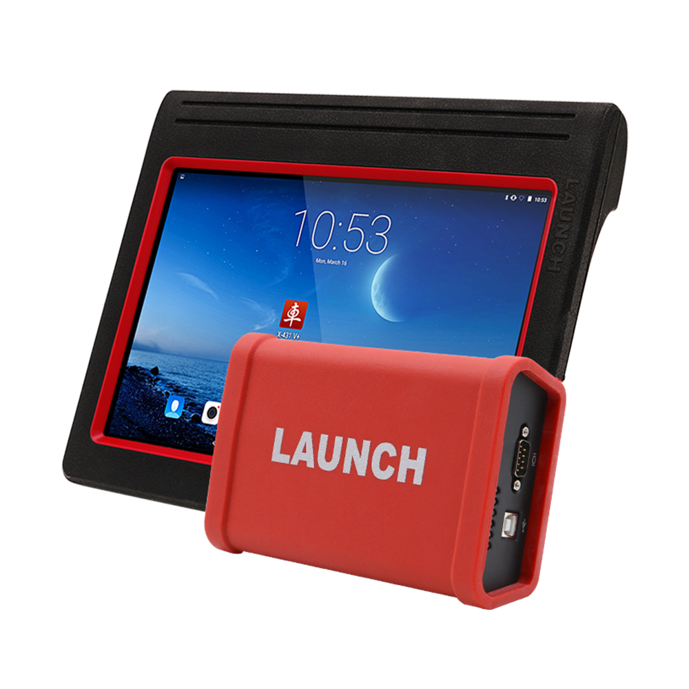Launch X431 V+ tablet & Heavy duty adapter box (3)
