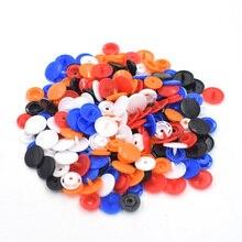 100 sets per pack plastic T8 Snap button. Resin snaps. Down waistcoat buckle. Children snap Wholesale Accessories