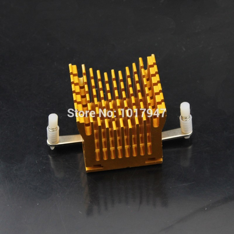 2 Pieces lot Motherboard Chipset Golden Northbridge Heatsink Cooler Cooling родословная книга стандарт