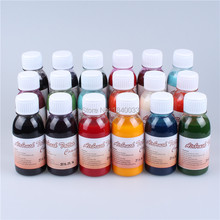 6 Bottles/lot Golden Phoenix Airbrush Tattoo Ink Bright Color Body Tattoo Pigment 15 Colors Body Tattoo Spray Pigments