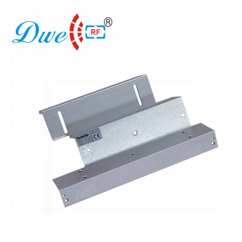 DWE CC RF access control door lock bracket aluminum metal 500kg magnetic lock Z L bracket dwe cc rf access control door lock low temperature standard electric bolt invisible door lock