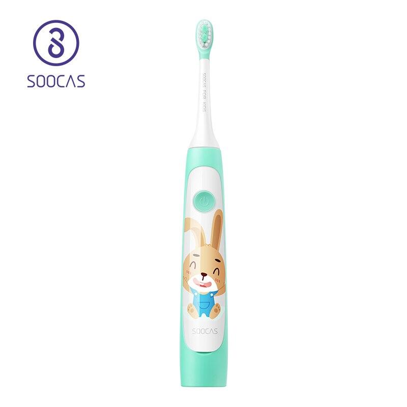 SOOCAS C1 Crianças escova de Dentes Elétrica de Sonic escova de Dentes Escova de Dentes Criança Kid Automática IPX7 USB de Carregamento Sem Fio