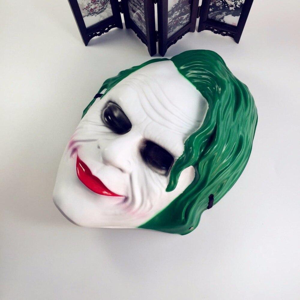 Batman Grimace Masks Supplies Dark Knight Joker Adult Men Horror Party Mask Horrible Scary Party Halloween Fool's Day mask