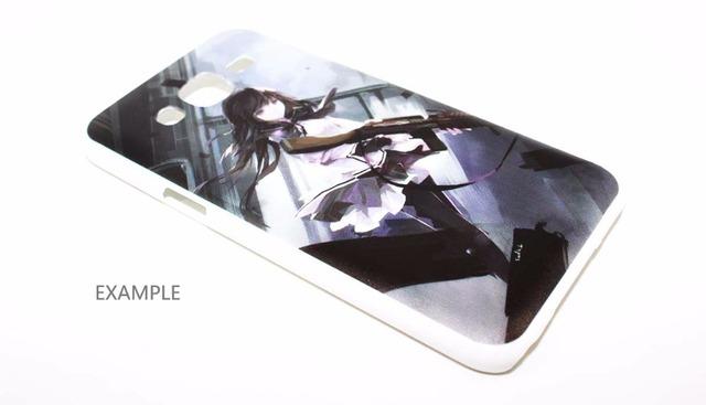 Naruto Uzumaki Hard White Case Cover for Samsung Galaxy
