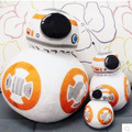 1PCS 10cm/20cm/30cm Star Wars 7 BB8 Plush Toys Set The Force Awaken BB-8 Droid Robot Stuffed Doll Christmas Gifts for Kids