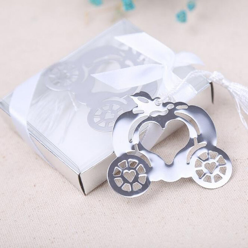 50PCS Cinderella Pumpkin Carriage Bookmark Wedding Favors And Gifts Wedding  Supplies Wedding Souvenirs Wedding Gifts For Guests-in Party Favors from  Home ... 5f417fc71