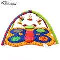 Borboleta colorida Do Bebê Game Pad Cobertor Crianças Crawling Mat Brinquedos Rastejando Cobertor Quadro De Fitness Esportes Tapete Brinquedos Educativos