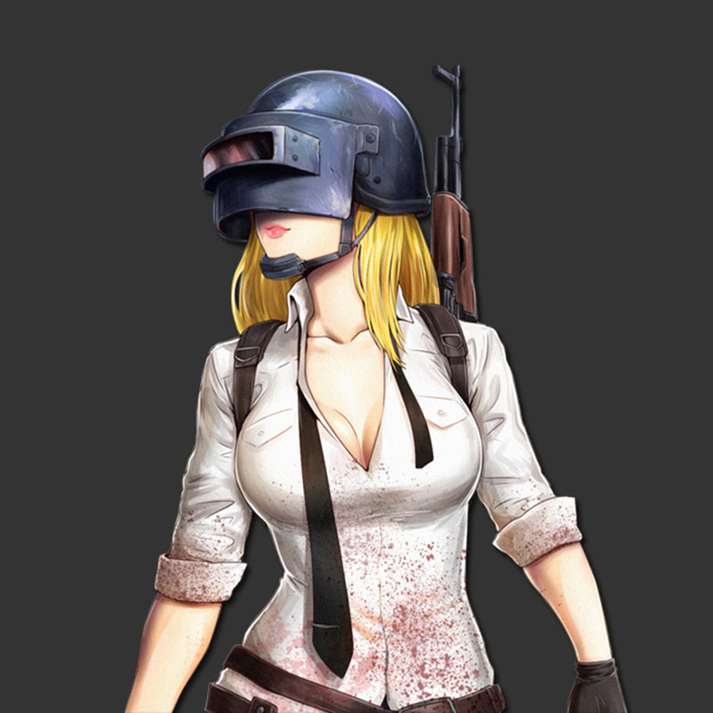 50cm PUBG Playerunknown's Battlegrounds Sexy Girl Women