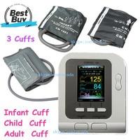 Digital Blood Pressure Monitor NIBP,Adult+Child+Pediatric+SW,Sphygmomanometer CONTEC08A Portable