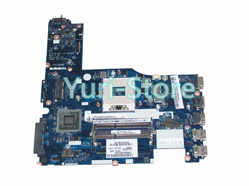 NOKOTION VILG1 G2 LA-9902P Rev 1.0 Laptop Motherboard for lenovo ideapad G400S 14 inch HM77 HD4000 graphics 100% test nokotion sps v000198120 for toshiba satellite a500 a505 motherboard intel gm45 ddr2 6050a2323101 mb a01