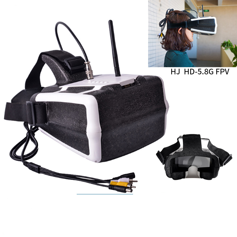 Inspire  FPV high definition video glasses  HDMI with head wear monitor 5.8G and  receiver 40 frequency