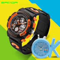 Children Watch 2 13 Years Old Accompanying Kids Healthy Growth Sports Electronic Watch Multicolor Water Shock Resist Kids Watch