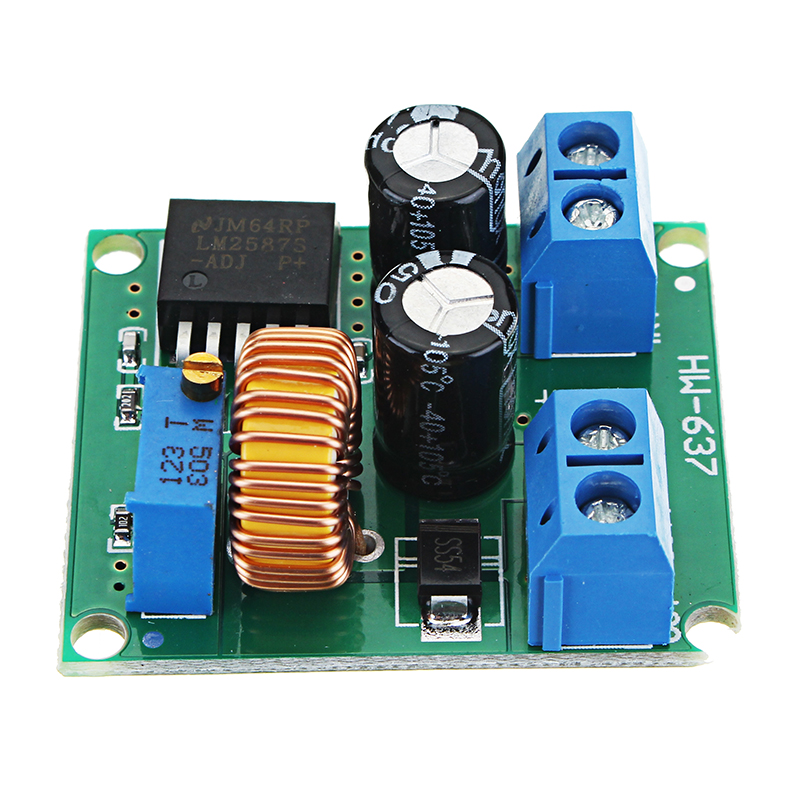 New arrival 3V/5V/12V to 19V/24V/30V/36V DC Adjustable Boost Module LM2587 Power Supply Board