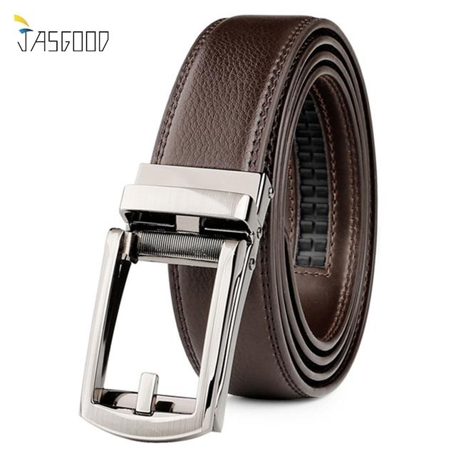 c2359fb062ff JASGOOD Men Belt Leather Ratchet Belts for Men Designer Belts High Quality  with Luxury Buckle Kemer Cinturones Hombre
