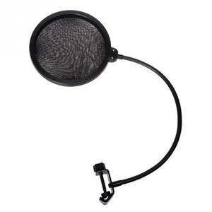 Image 3 - Микрофонный фильтр для пения щиток для ветрового стекла Pod литой, двойной двухслойный анти микрофонный металлический студийный фильтр