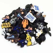 Wholesale 50pcs Random Mixed Star Wars Shoe Decoration Shoe Charms fit font b Children b font