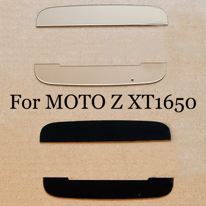 2 in 1 For MOTO Z XT1650 New Rear Back Door Cover Upper bracket and lower bottom bracket Cover For MOTOZ Replacement Parts