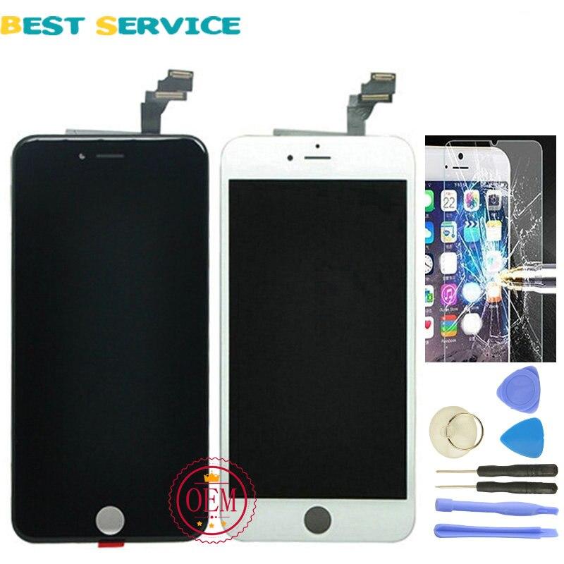 imágenes para Grado AAA No Pixel Muerto Para iPhone 6 Plus 5.5 LCD Pantalla Con Pantalla Táctil Digitalizador Asamblea + Herramientas de Envío gratis
