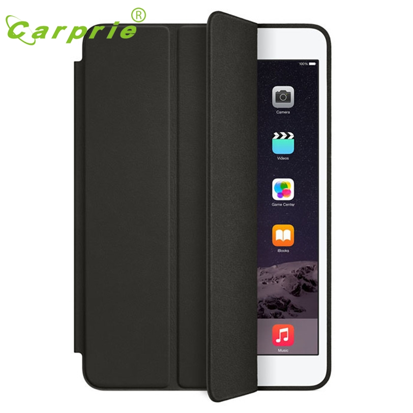 CARPRIE Tablet Case Smart Leather Case For iPad mini 1 2 3 Retina Slim Stand Back Cover Factory price 2017  цены