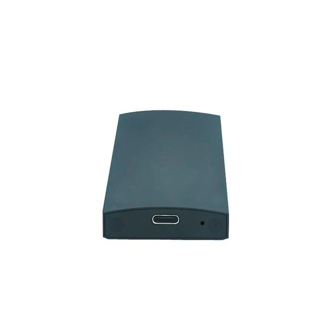 NGFF M2 USB3.1 ТИП C Алюминиевый корпус одного карты Внешний HDD Корпус