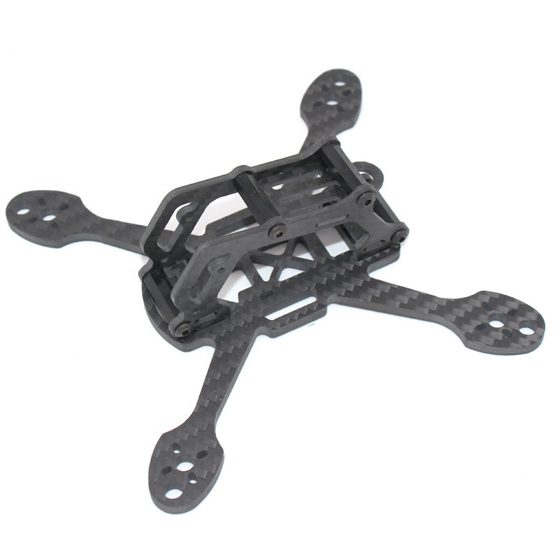 PUDA XBL140 140mm 3 Inch Mini RC Drone FPV Racing Frame Kit 4mm Arm Carbon Fiber For RC Racing Drone Multicopter DIY Parts Accs vx145 145mm wheelbase 3mm arm carbon fiber rc racer racing frame kit for fpv drone quadcopter body shell diy spare parts accs