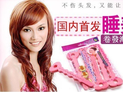 Min.order is $15 (mix order) Fashion Sponge Hair Device Divider Hairdisk Curled Hair Roller Bun Updo Headwear Coiffure AQ2078