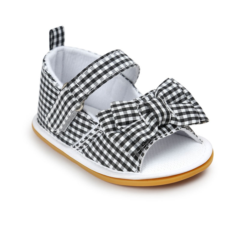Hot-sale-New-Stripe-Bowtie-Cute-Baby-moccasins-child-Summer-girls-sandals-Sneakers-First-walkers-Infant-Fabric-shoes-0-18-M-4